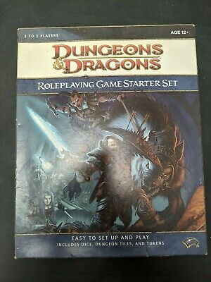 £16.89 • Buy Dungeons And Dragons Roleplaying Game Starter Set WotC (Missing Dice)#SH