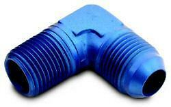 $6.99 • Buy AN FITTINGS -4 AN FITTING To 1/8  Pipe Thread 90 Deg. Blue Anodized Aluminum