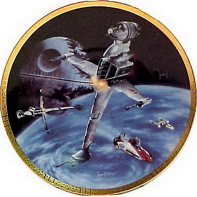 $ CDN48.08 • Buy Vintage B-Wing Fighter Star Wars Vehicles Ceramic Collector Plate