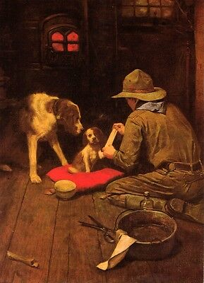 $ CDN19.99 • Buy Norman Rockwell BSA Boy Scout Print A GOOD SCOUT 1925