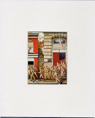 $ CDN18.19 • Buy Norman Rockwell Boy Scout Print SCOUTING IS OUTING 1968