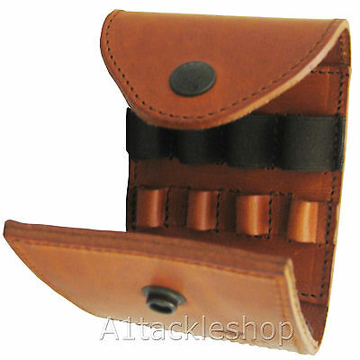 Radar Brown Leather Rifle Ammunition/Ammo Pouch For Deer Stalking • 36.99£