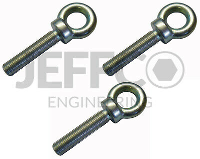 Motorsport Harness Eyebolts 7/16  UNF Seat Belt Eye Bolt 50mm Long 3 Pack  • 8.99£