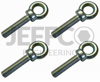 Motorsport Harness Eyebolts 7/16  UNF Seat Belt Eye Bolt 50mm Long 4 Pack  • 11.99£