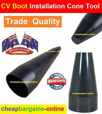 AU14.99 • Buy Cv Joint Boot Cone Tool Installs Rubber Cv Joint Boots Car 4x4 4wd Workshop Tool