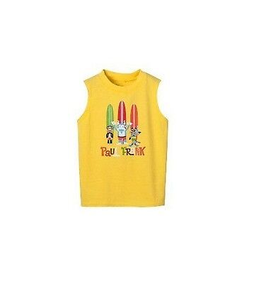 £7.07 • Buy Boys Paul Frank Muscle Tee Yellow 18 Months NWT NEW