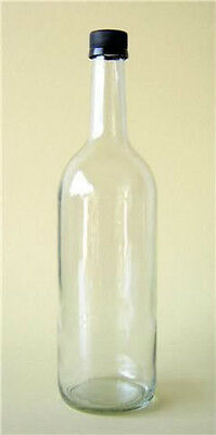 24 X 750ml MINERAL JUICE BOTTLE CORDIAL CIDER GLASS APPLE JUICE NEW • 25£