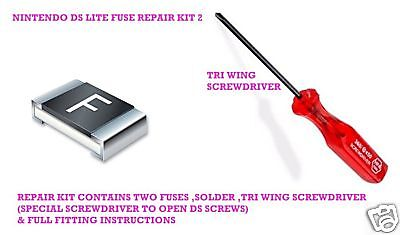 Nintendo Ds & Ds Lite Repair Fuses Tri Wing Screwdriver • 4.49£