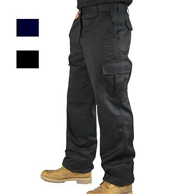 £14.99 • Buy Mens Cargo Combat Work Trousers By RSW In Size 30 To 42 - Chino Pants Work Wear