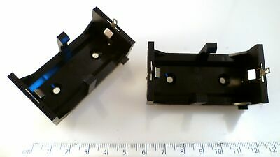 Bulgin BX0036 C Cell PCB Mount Battery Holder 2 Pieces OM0526 • 7.49£