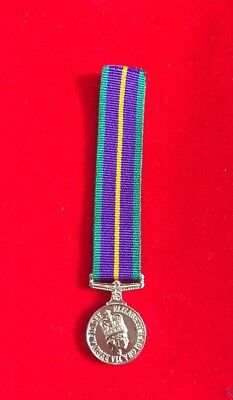 £4.99 • Buy Accumulated Campaign Service  Miniature Medal ACSM 1 First Type With Ribbon