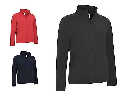 Ladies Full Zip Waterproof Soft Shell Jacket Size 8 To 22 - CASUAL & LEISURE • 17.99£