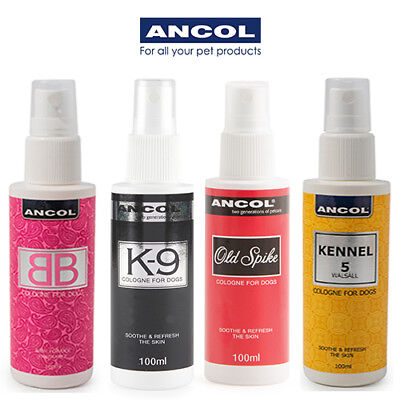 Ancol Dog Cologne Perfume Deodorant K9 BB Old Spike Luxury Finishing Spray Mist • 8.49£