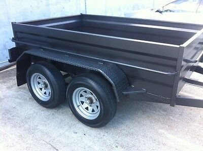 AU2900 • Buy New Dual Axle High Sided Box Trailer 2t Gvm - Options Available