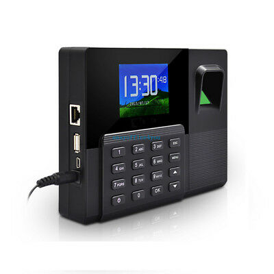 Time Recorder Fingerprint Clocking In Machine CLOCK FINGERPRINT CLOCKING IN • 89.99£