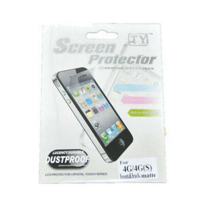 AU2.90 • Buy 2x Matte Front + Back Screen Protector FULL BODY For IPhone 4 4S Retail Pack