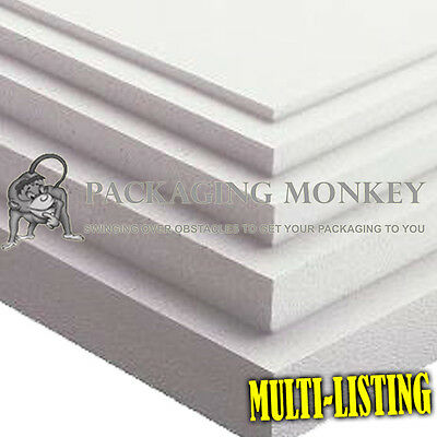 £7.85 • Buy Expanded Polystyrene Foam Packing Sheets *all Sizes*