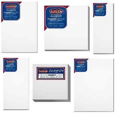 £24.99 • Buy Artist Blank Stretched & Acrylic Primed Box Framed 100% Cotton Loxley Art Canvas