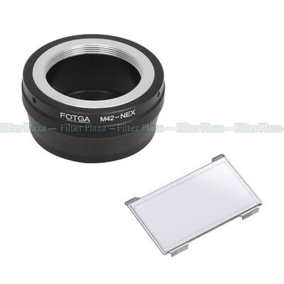 $6.80 • Buy FOTGA M42 42mm Lens To Sony E-Mount NEX-7 6 5 A7 A7R II A6500 A6300 Adapter Ring