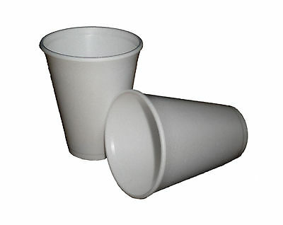 £26.95 • Buy Foam Cups Polystyrene 7oz Insulated For Coffee / Tea  X 1000