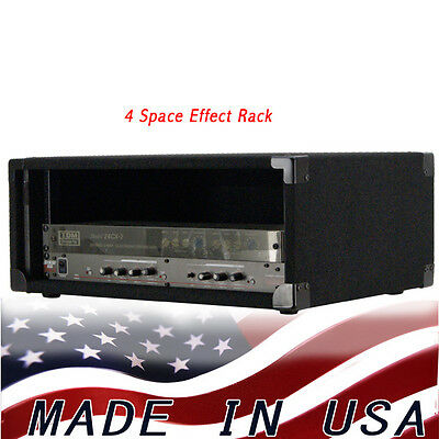 AU128.66 • Buy Rack Case 4U-space For Effect Processors And Short Depht Amps