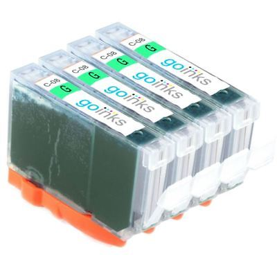 £6.55 • Buy 4 Green Ink Cartridge To Replace Canon CLI-8R For PIXMA Pro 9000 & Mark II (MK2)