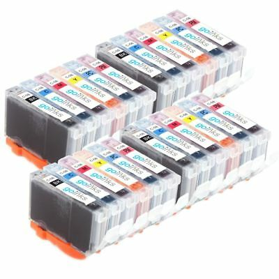 £21.99 • Buy 24 Ink Cartridges For Canon PIXMA IP6600D IP6700D MP950 MP960 MP970 & Pro 9000