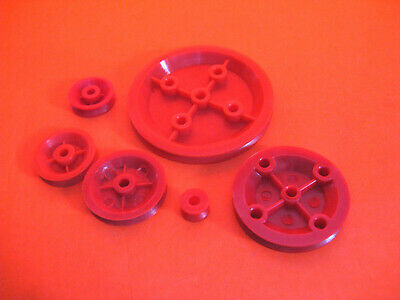 Plastic Pulley Wheels 10-60mm 4mm Centre Radio Controlled Toys Models Pick & Mix • 1.70£