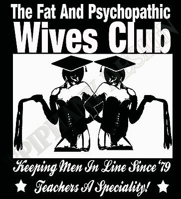 £13.95 • Buy Pink Floyd Inspired The Wives Club T-Shirt The Wall David Gilmour Roger Waters