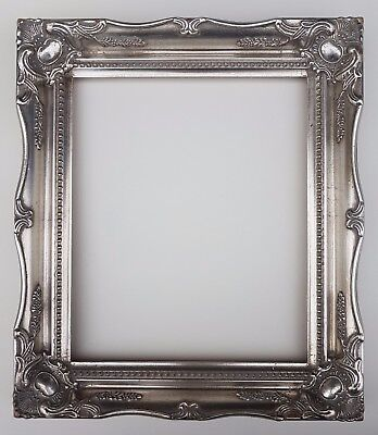 £29.50 • Buy 10 X 8  Silver/Gold Ornate Antique Baroque Rococo Swept Picture Frame With Glass
