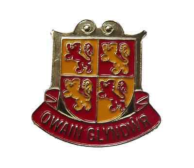 £4.99 • Buy Owain Glyndwr (Welsh Chieftain) Wales National Quality Lapel Pin Badge