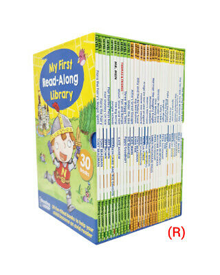 My First Read-Along Library 30 Books Collection Box Set Reading Ladder Level 1  • 26.99£