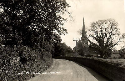 Snettisham. Old Church Road # 1449 By H. Coates. • 12£