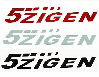 AU6.99 • Buy 5ZIGEN Car Vinyl Sticker Decal Silver/ Red/ White/ Black