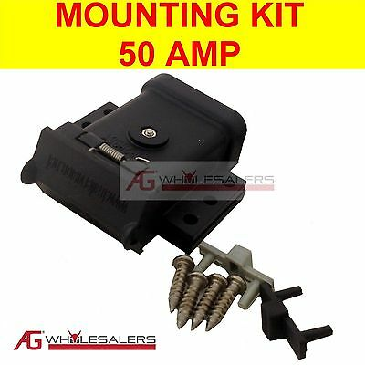 AU14 • Buy Anderson Plug Mounting Kit 50a Mount System Cover Dust Cap External For Trailer