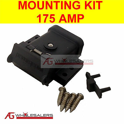 AU28 • Buy Anderson Plug Mounting Kit 175a Mount System Cover Dust Cap External For Trailer