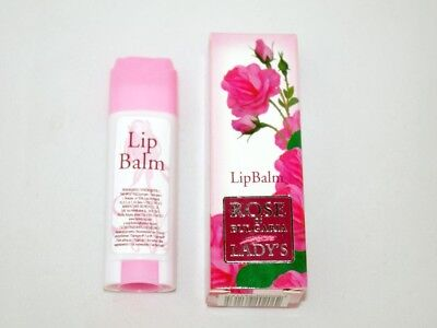 £2.01 • Buy Rose Of BULGARIA Lady Lip Balm Balsam Stick Beeswax Shea Oil UV Filter