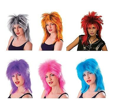 1980s #Celebrity Tina Turner All Colour Wigs Fancy Dress Costume Accessory • 9.67£