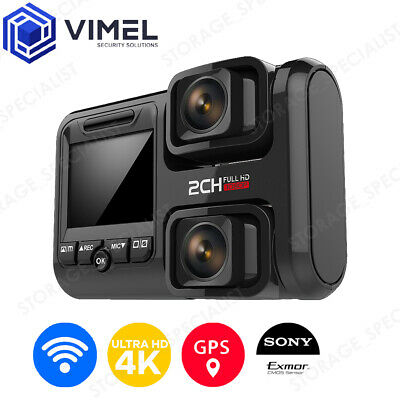 AU159 • Buy Professional Dual Dash Camera WIFI G-Sensor Security Recorder Ultra HD 4K