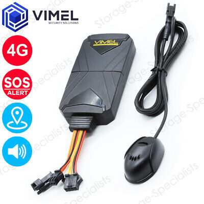 AU165 • Buy 4G Real Time GPS Tracker Remote Listening LIVE SOS Hardwired Kit Anti-Theft Car