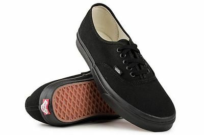 AU79.95 • Buy Vans Shoes Authentic Black Black Classic Skate Board USA SIZE Sneakers