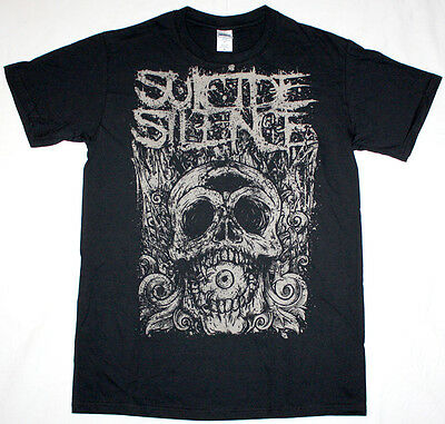 Suicide Silence Cyclops Deathcore Mitch Lucker Animosity New Black T-shirt • 8.99£