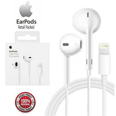 £16.99 • Buy Official Genuine Apple EarPods With Lightning Connector Remote & Mic - MMTN2ZM/A
