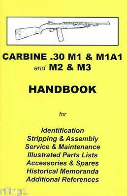 $8.95 • Buy M1 CARBINE .30 M1, M1A1, M2 & M3 Assembly, Disassembly