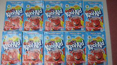 Kool-Aid Drink Mix Tropical Punch 10 Count  • 3.54£