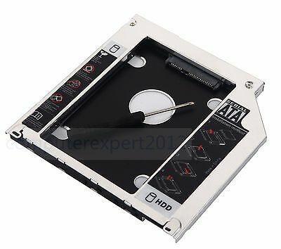 $7.58 • Buy 2nd HDD SSD SATA Hard Drive Caddy For MacBook Pro MBP Unibody Optical Drive Bay