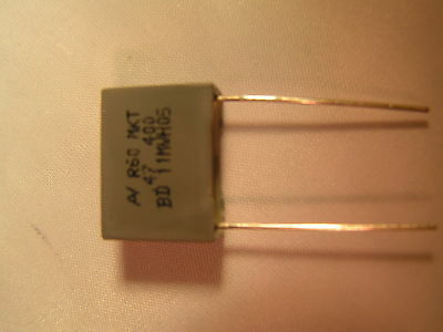 £4.99 • Buy Arcotronics Capacitor Polyester 0.47uf +/-5% 400v Dc 22.5MMP 10 Pcs ROHS OL0513