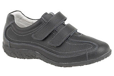 £24.98 • Buy Womans Ladies Extra Wide Fitting Leather EEE Leisure Trainers Shoes 3 - 9