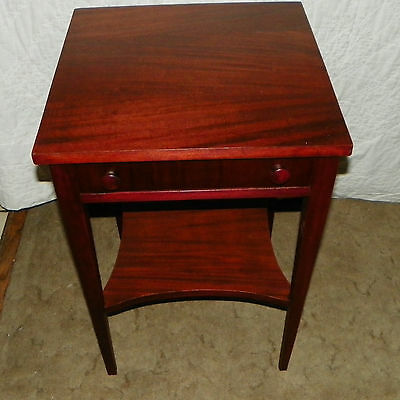 $399 • Buy Mahogany Side Table / End Table With Drawer  (T155)