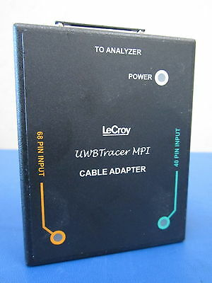 $55.99 • Buy LeCroy UWBTracer MPI Cable Adapter 800-0103-00